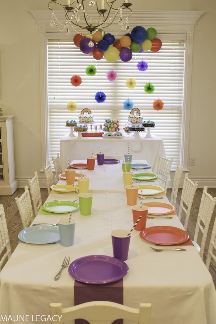 Colorful Rainbow Party Ideas Lifestyle Maune Legacy