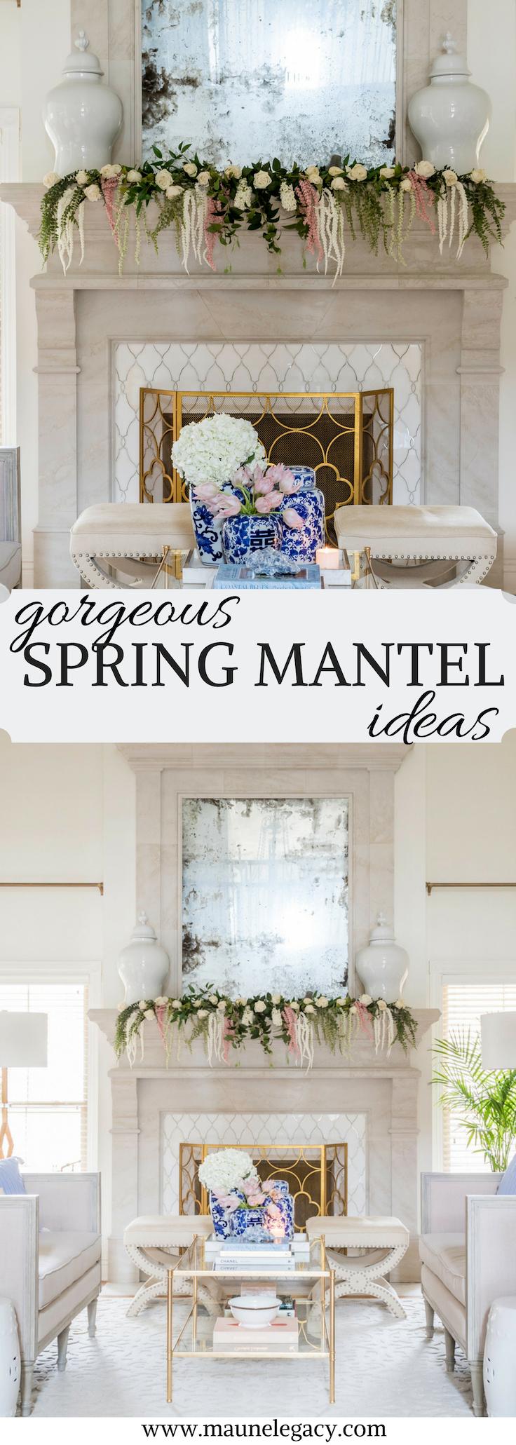 Gorgeous Spring Mantel Ideas Home Design Lifestyle Maune Legacy