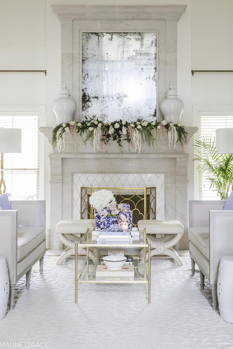 Spring Home Decor Tour and Blog Hop  Home Design  Maune Legacy