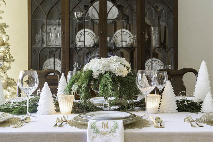Elegant Christmas Table Setting Ideas Home Design Jennifer Maune