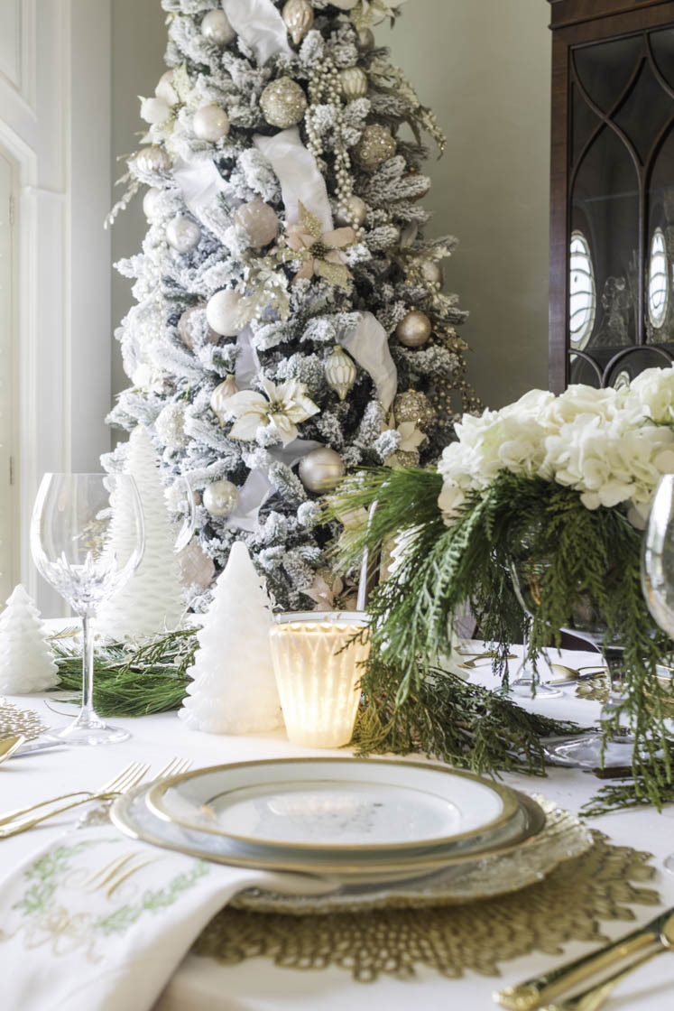 Elegant Christmas Table Setting Ideas
