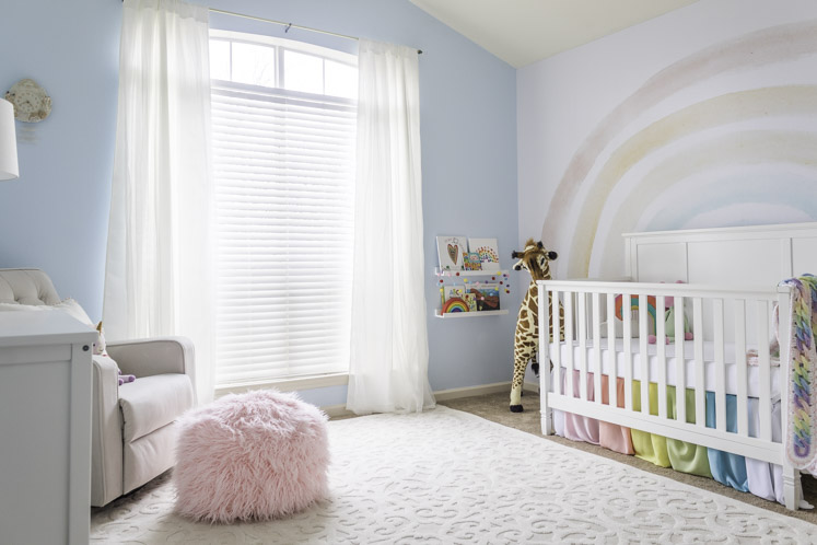 Rainbow Baby Nursery Decor Home