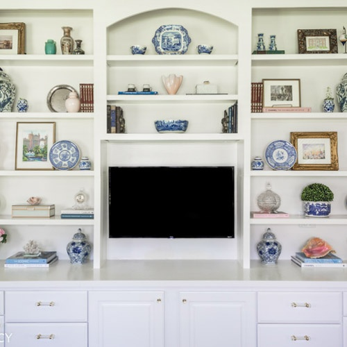 Styling A Built In Bookcase Decorating Ideas Home Design Maune Legacy