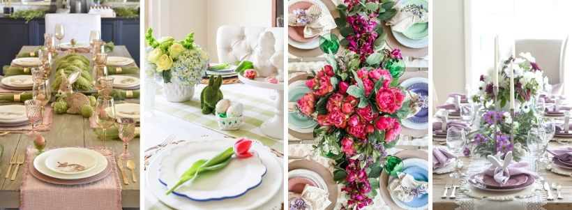 4 GORGEOUS EASTER TABLE SETTINGS