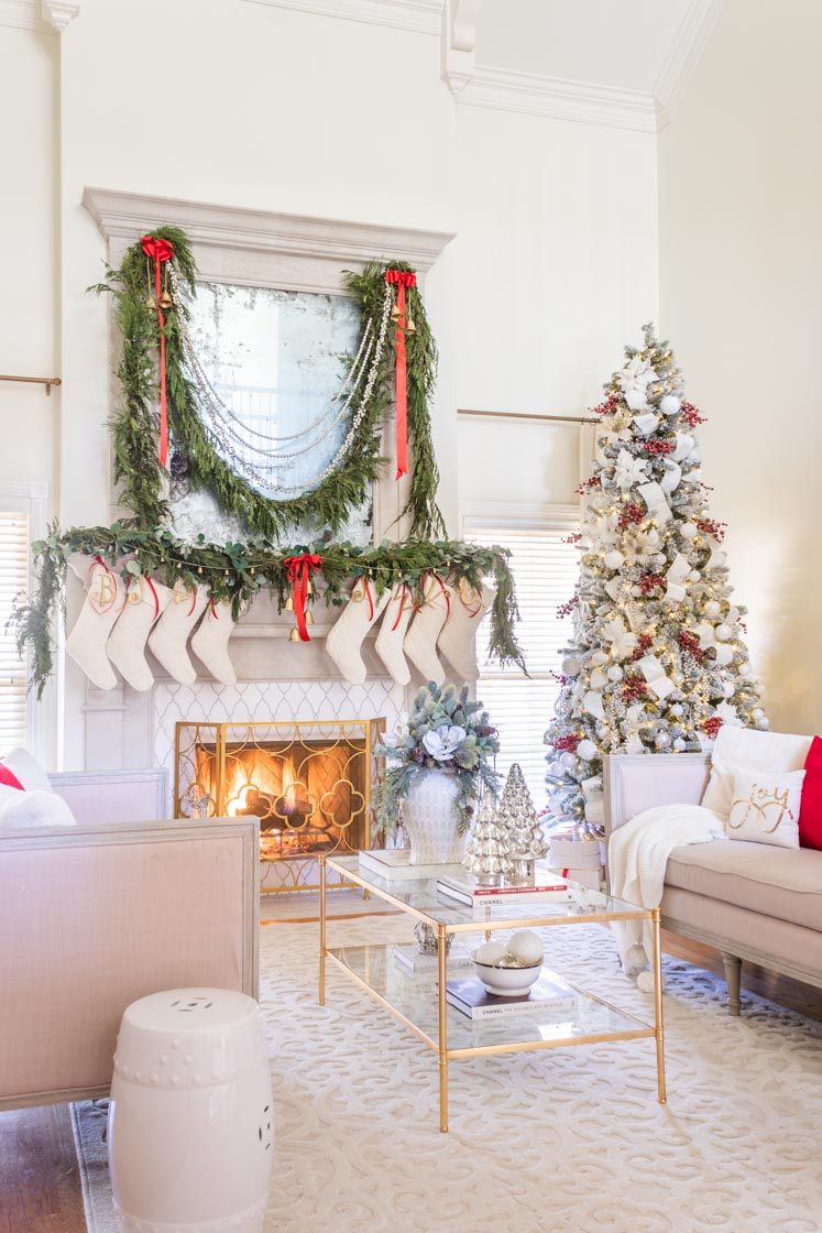 Christmas Mantel Decorating Ideas Home Design Lifestyle Jennifer Maune